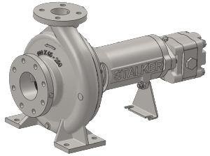 Close Coupled ISO Hydraulic Drive